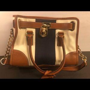 Michael Kors Multi Color Leather Handbag